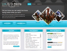 Tablet Preview of live-horse-racing.net